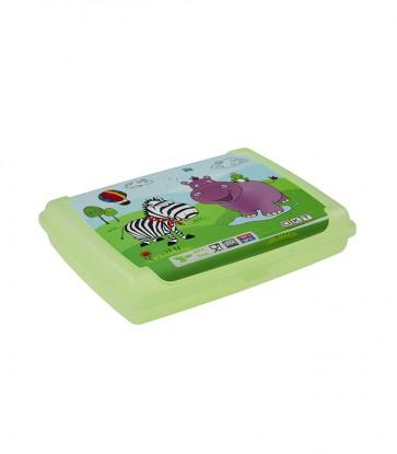 "Plastový box Deco ""Hippo mini"" - 0,5l, 17x13x3,5 cm"
