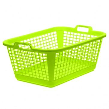 Koš na prádlo XXL, zelený