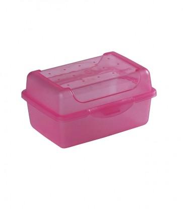 Plastový box MICRO - růžový