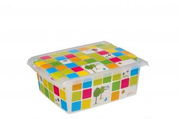 """Plastový box Fashion, """"KIDS"""", 39x29x14 cm - POSLEDNÍ 4 KS"""
