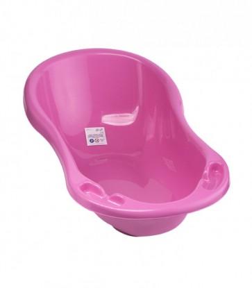 Dětská vanička ve světle růžové barvě o rozměrech - 100x51x31 cm