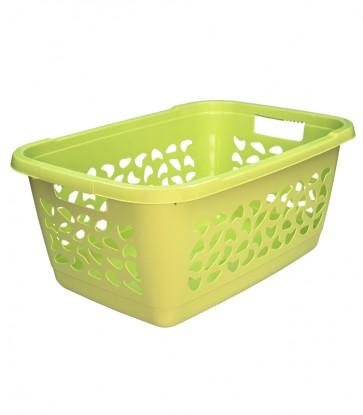 Koš na prádlo, 52 l, zelený - POSLEDNÍ 2 KS