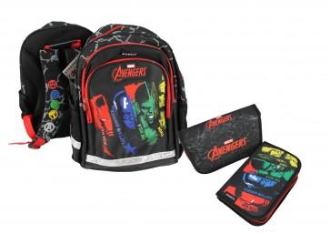 """Školní batoh """"Avengers"""", set 2v1"""