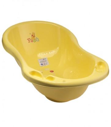 Dětská vanička ve žluto medové barvě s motivem Medvídka Pú - 84x49x30 cm - POSLEDNÍCH 5 KS