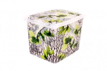 "Plastový box Fashion,  ""Spring"", 39x29x27cm - POSLEDNÍCH 7 KS"