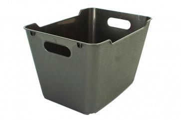 Plastový box LOFT 12 l, grafit, 35,5x23,5x20 cm - POSLEDNÍCH 38 KS