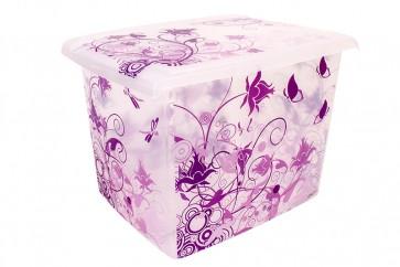 Plastový box Fashion, Romance, 39x29x27cm - POSLEDNÍCH 4 KS