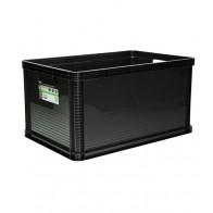 Plastový box Robusto 64 l, grafit, 60x40x32 cm