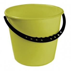 Kbelík s plastovou rukojetí, zelený, 10l - POSLEDNÍCH 2 KS