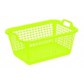 Koš na prádlo L, zelený