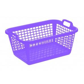 Koš na prádlo L, fialový