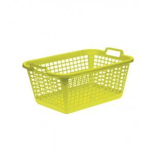 Koš na prádlo XL, zelený