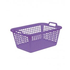 Koš na prádlo XL, fialový