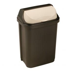 """Odpadkový koš """"Roll-Top"""" 10 l, grafit"""