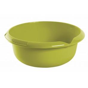 Kulatá miska s výlevkou, zelená, Ø 28 cm - POSLEDNÍCH 11 KS