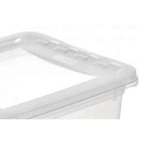 Plastový box Basixx 1,7 l, průhledný.