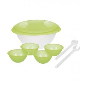 Salátový set, zelený - POSLEDNÍCH 60 KS