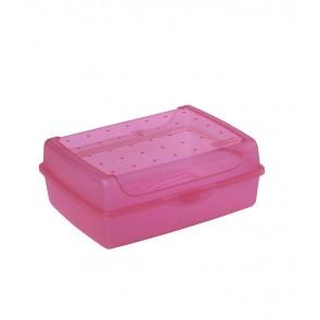 Plastový box MIDI - růžový