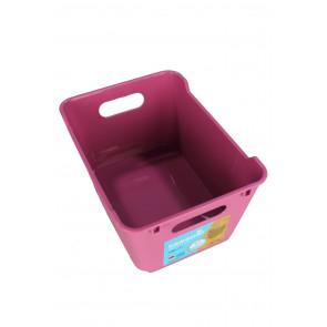 Plastový box LOFT 1,8 l, růžový, 19,5x14x10 cm