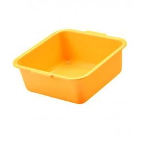 Hranatá miska, pomerančová, 38 x 38 x 16 cm - POSLEDNÍ 3 KS