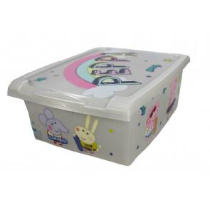 "Plastový box Fashion, ""Prasátko Pepa"", 39x29x14cm"