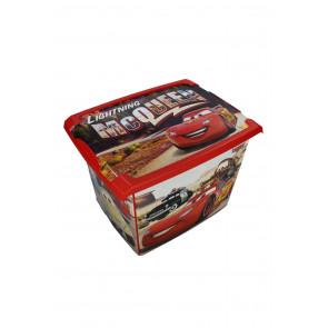 "Plastový box Fashion, ""Auta"", 39x29x27cm"