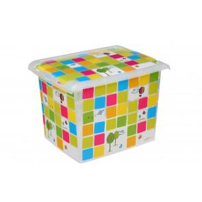 """Plastový box Fashion, """"KIDS"""", 39x29x27 cm - POSLEDNÍCH 6 KS"""