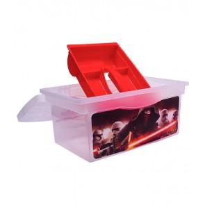 Cestovní box v červené barvě s motivem Star Wars - 40x24x21 cm - POSLEDNÍCH 10 KS