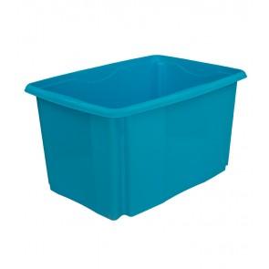 Plastový box Colours, 45 l, modrý - POSLEDNÍCH 13 KS