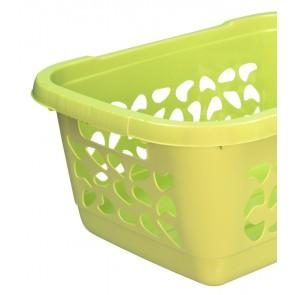 Koš na prádlo 32l, zelený - POSLEDNÍCH 10 KS