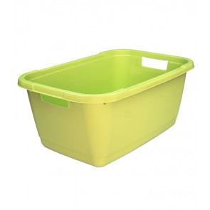 Koš na prádlo 52l, zelený - POSLEDNÍCH 23 KS