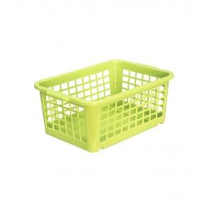 Plastový košík, malý, zelený, 25x17x10cm - POSLEDNÍCH 44 KS