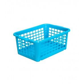 Plastový košík, malý, modrý, 25x17x10cm