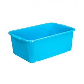 Plastový box Magic, velký, modrý, 30x20x11 cm