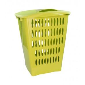 Vysoký koš na prádlo, 45 l, zelený - POSLEDNÍCH 7 KS