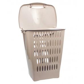 Vysoký koš na prádlo, 45 l, šedý - POSLEDNÍCH 8 KS