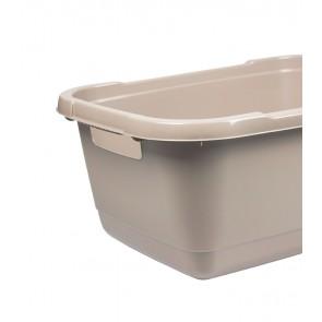 Koš na prádlo 32l, šedý - POSLEDNÍCH 8 KS