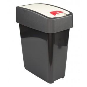 """Odpadkový koš """"Magne"""" 10 l, grafit"""