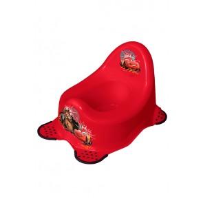Dětský nočník v červeném provedení s motivem Cars - 38x27x24 cm
