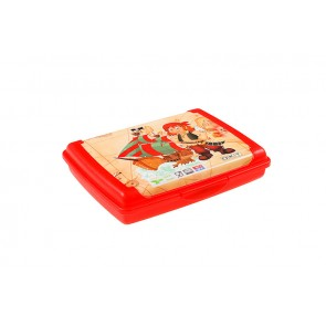 """Plastový box Deco """"Pirát mini"""" - 0,5l, 17x13x3,5 cm - POSLEDNÍCH 7 KS"""