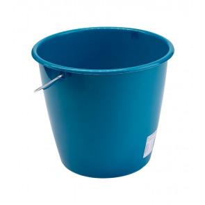Kbelík s kovovou rukojetí, mořská modř, 5l - POSLEDNÍ KUS