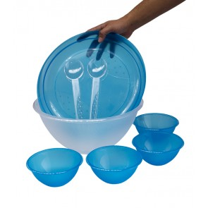 Salátový set, modrý - POSLEDNÍ 3 KS
