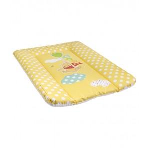 Dětská přebalovací podložka v žluto medové barvě s motivem Medvídka Pú - 70x50x5 cm - POSLEDNÍ 3 KS