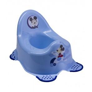 Dětský nočník v modrém provedení s motivem Mickey - 38x27x24 cm - POSLEDNÍCH 6 KS