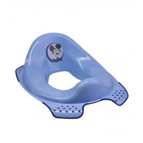 Sedátko na WC v modré barvě s motivem Mickey - 30x40x15 cm - POSLEDNÍ 4 KS