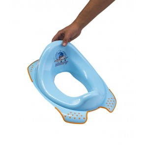 Sedátko na WC v modré barvě s motivem Planes - 30x40x15 cm - POSLEDNÍ 3 KS