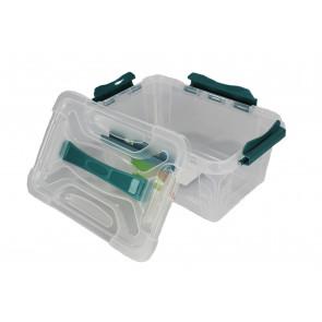 Plastový Clipp box, 4,2 l , průhledný ,29x19x12,4 cm - POSLEDNÍCH 5 KS
