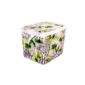 "Plastový box Fashion,  ""Spring"", 39x29x27cm - POSLEDNÍCH 8 KS"