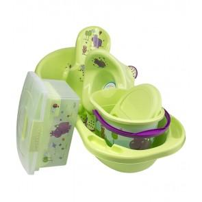 Velká souprava Hippo, zelená