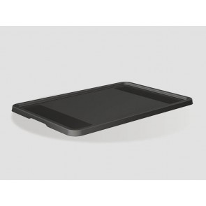 Plastové víko Eurobox 40x30 cm, grafit